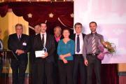 Lauréats M.Caron et M.Pezon