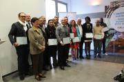 Chefs d'entreprise mis à l'honneur avec les élus