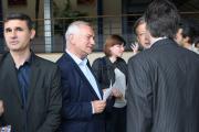 M.Bouqueau, parrain de chefs d'entreprise